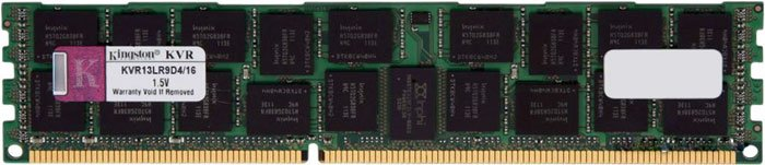 Модуль памяти Kingston ValueRAM KVR13LR9D4/16 DDR3 PC3-10600 16Gb