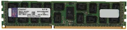 Модуль памяти Kingston ValueRAM KVR13LR9D4/8HC DDR3L PC3-10600 8GB