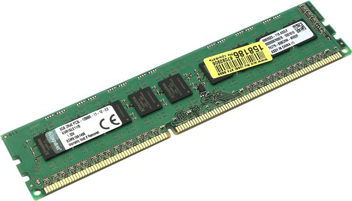 Модуль памяти Kingston ValueRAM KVR16LE11/8 DDR3 PC3-12800 8Gb