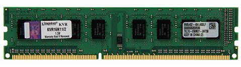 Модуль памяти Kingston ValueRAM KVR16N11/2 DDR3 PC3-12800 2Gb фото