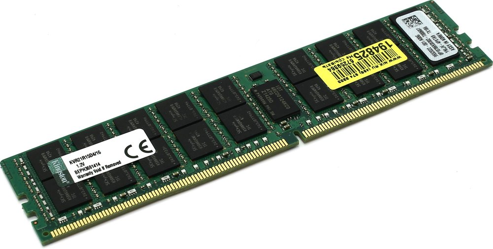 Модуль памяти Kingston ValueRAM KVR21R15D4/16 DDR4 PC4-17000 16Gb