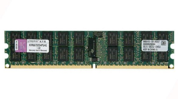 ������ ������ Kingston ValueRAM KVR667D2D4P5/4G DDR2 PC2-5300 4Gb