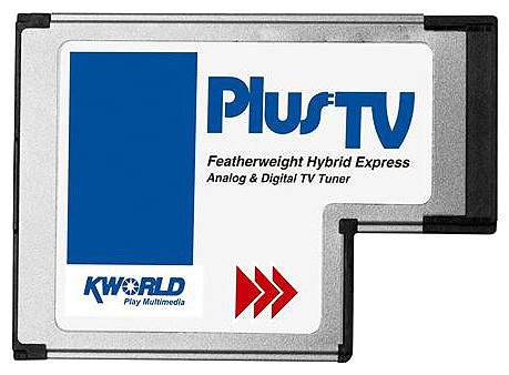 ТВ-тюнер KWorld Express Card Hybrid TV (KW-DVBT-EC100)
