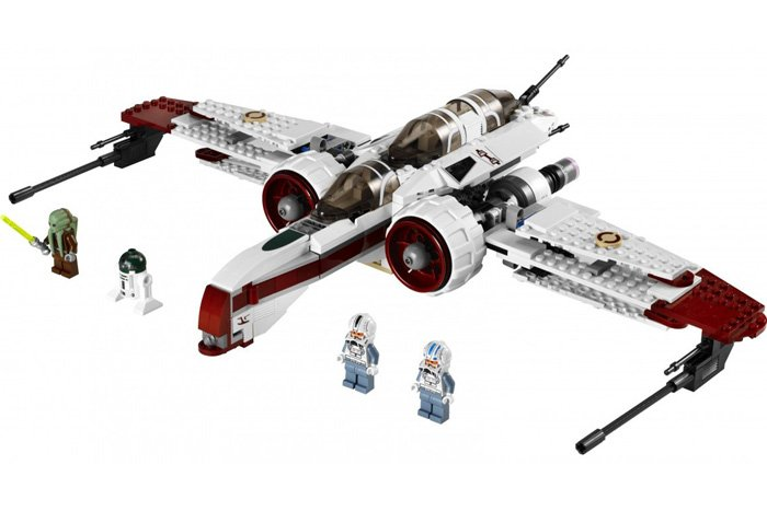 Конструктор Lego 8088 ARC-170 Starfighter