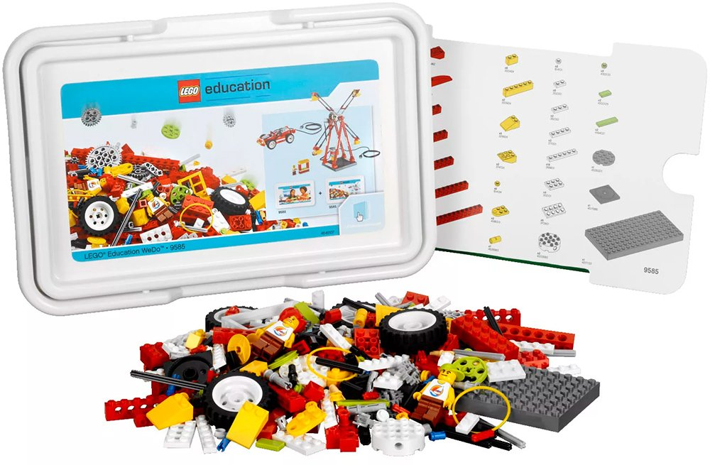 Конструктор Lego Education 9585 Ресурсный набор WeDo