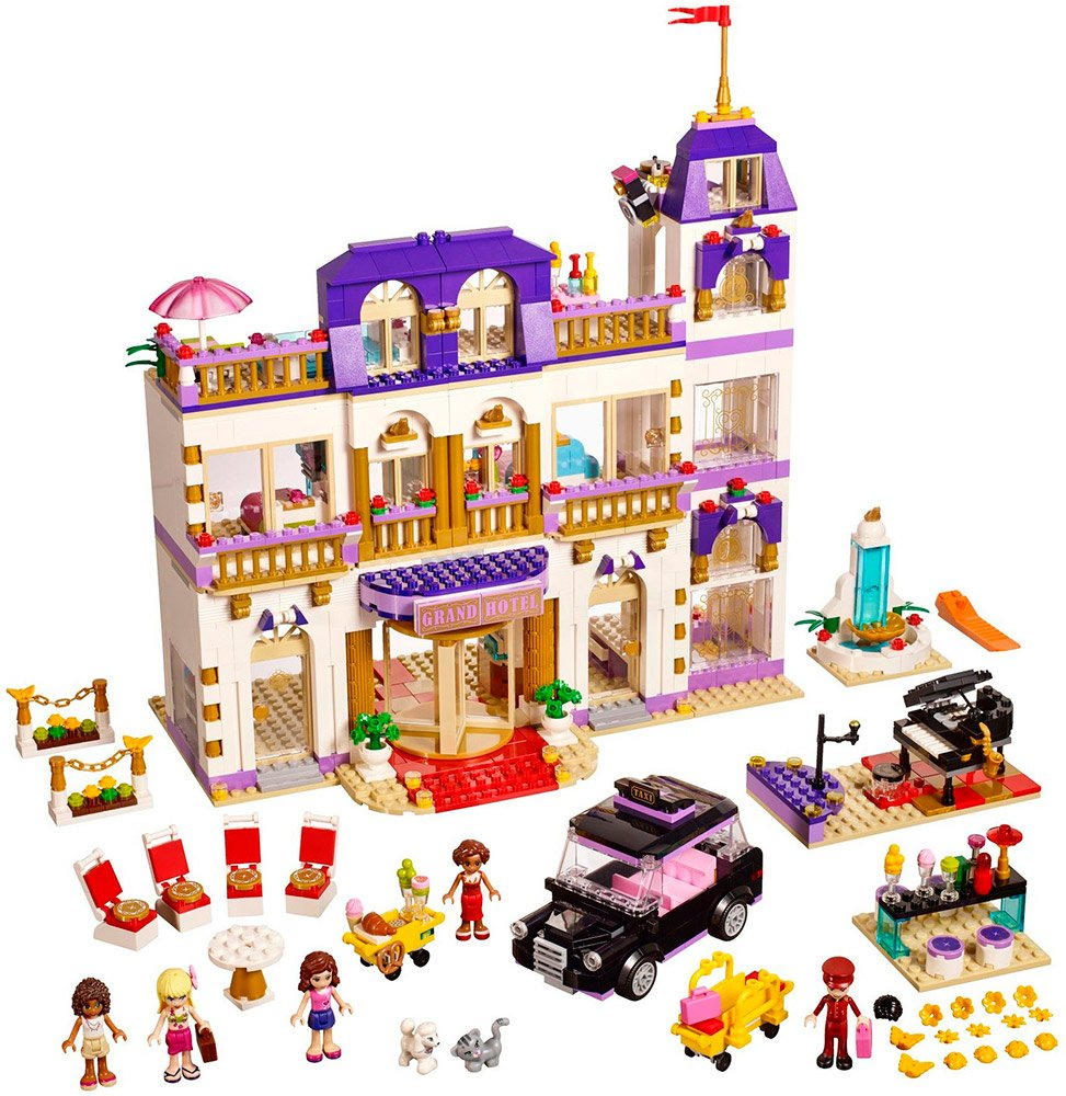 Конструктор Lego Friends 41101 Гранд-отель