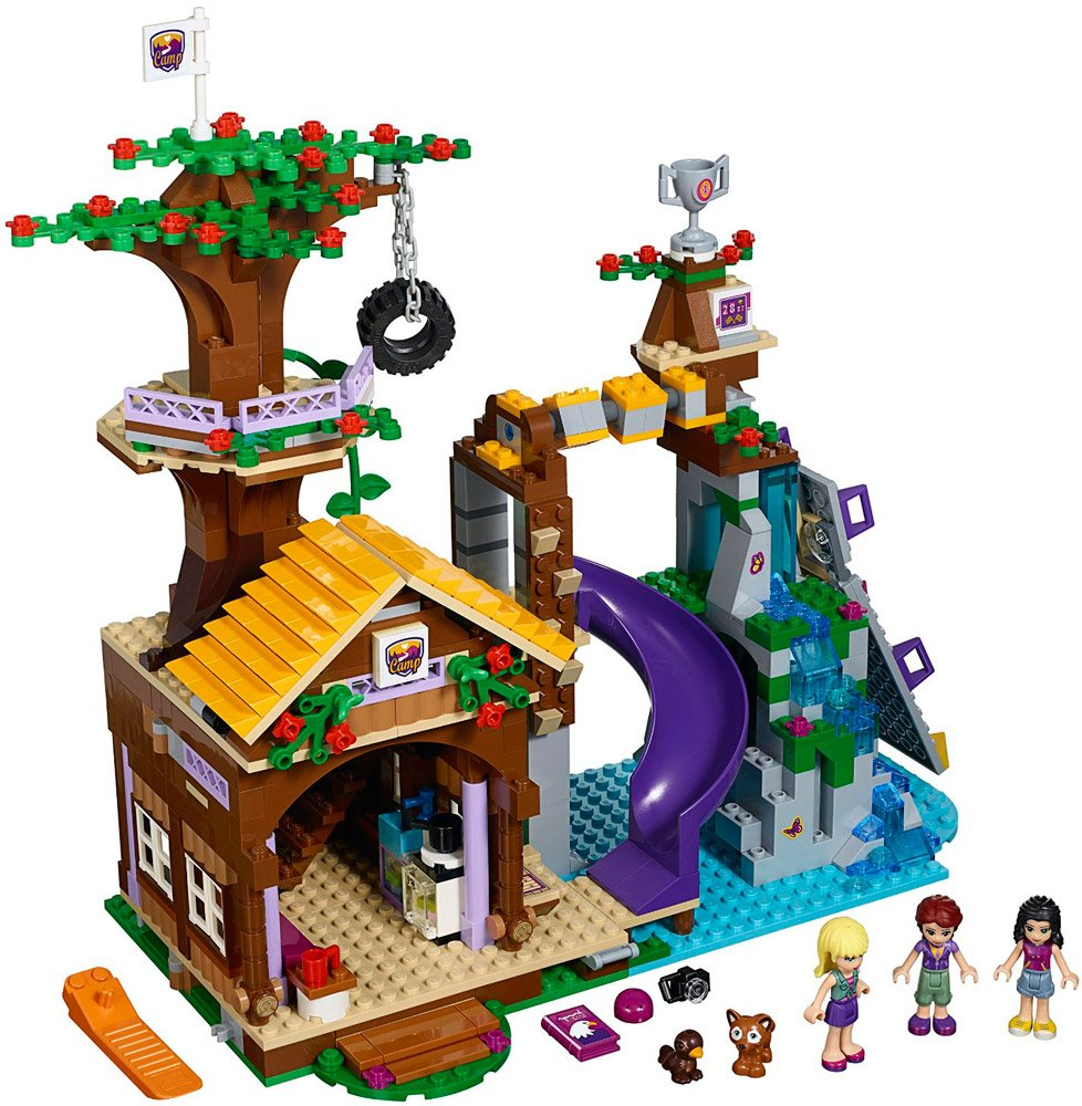 Конструктор Lego Friends 41122 Спортивный лагерь: Дом на дереве