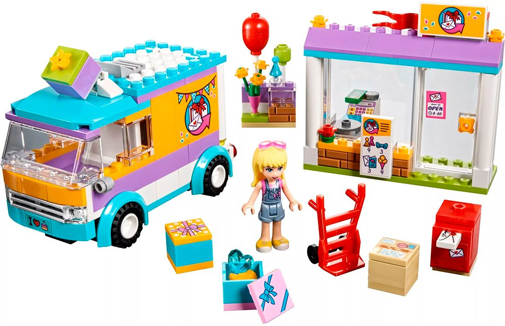 Конструктор Lego Friends 41310 Служба доставки подарков