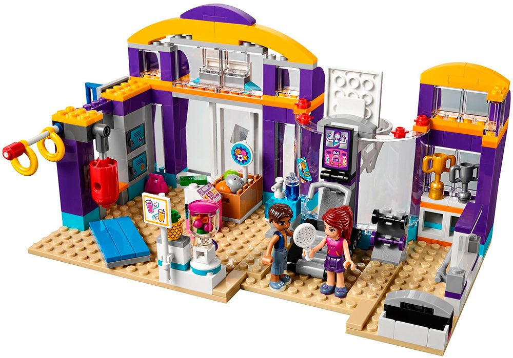 Конструктор Lego Friends 41312 Спортивный центр фото