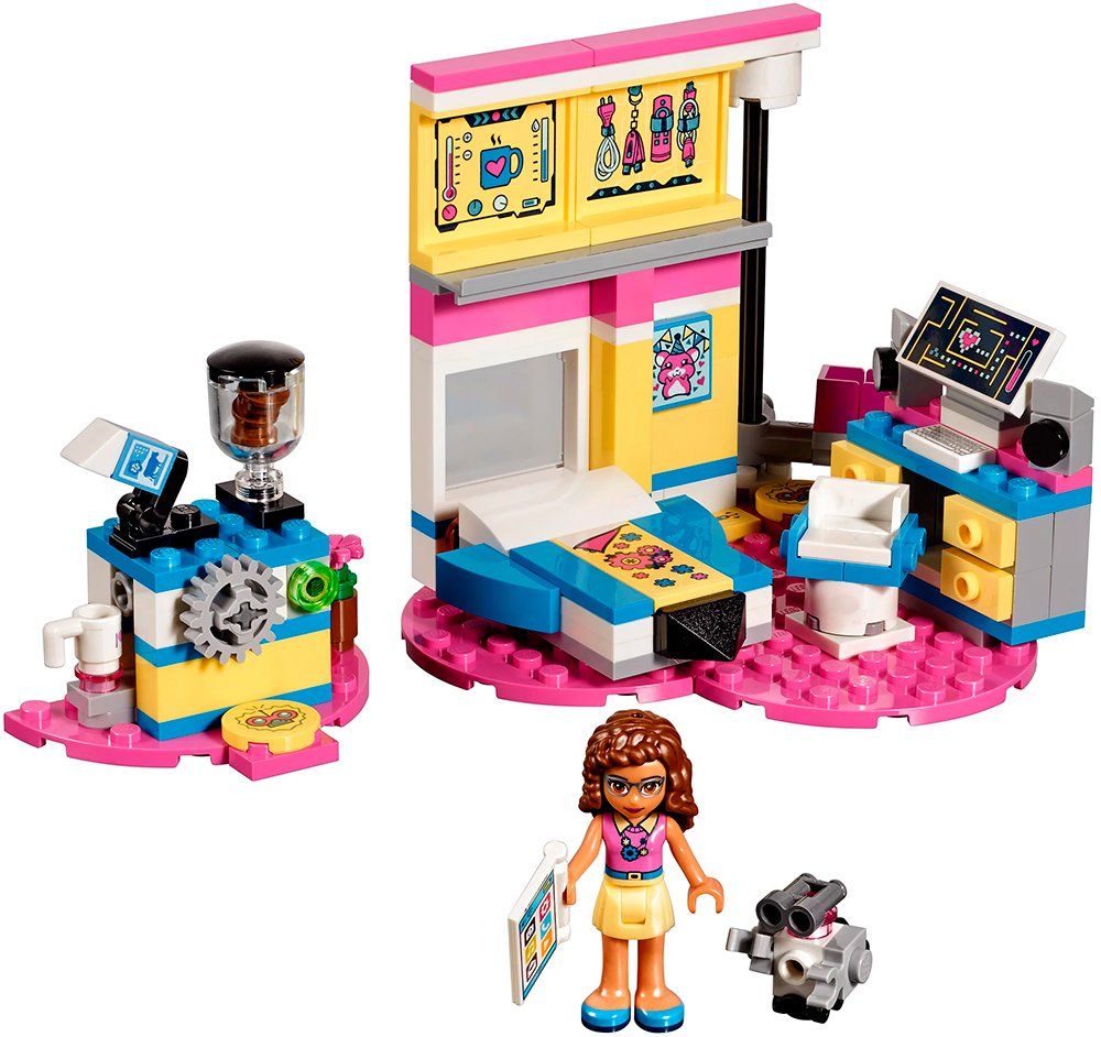 Конструктор Lego Friends 41329 Комната Оливии фото
