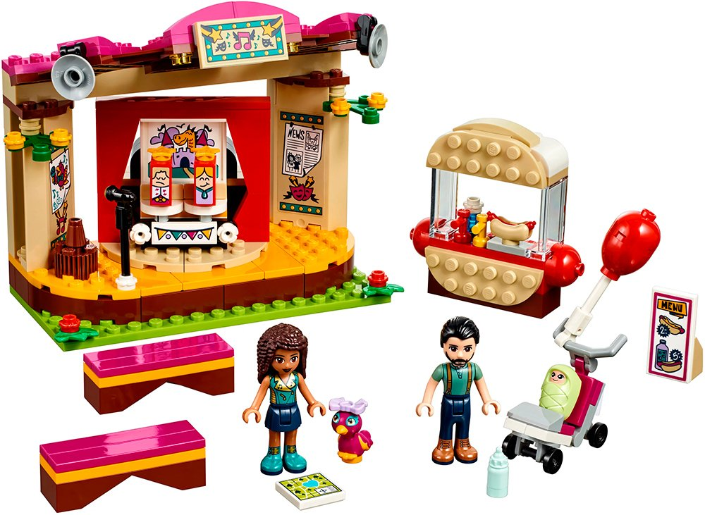 Конструктор Lego Friends 41334 Сцена Андреа в парке фото