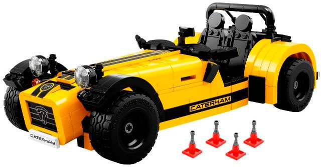 Конструктор Lego Ideas 21307 Caterham Seven 620R