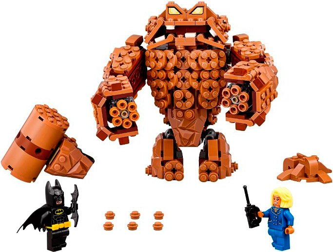 Конструктор Lego The Batman Movie 70904 Атака Глиноликого