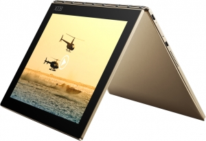 Планшет Lenovo Yoga Book YB1-X90F 64GB Gold (ZA0V0238RU) фото