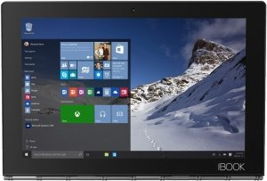 Планшет Lenovo Yoga Book YB1-X91F 64GB Gray (ZA150049RU) фото