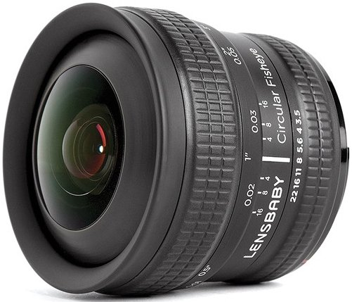 Объектив Lensbaby Circular Fisheye 5.8mm f/3.5 Micro Four Thirds