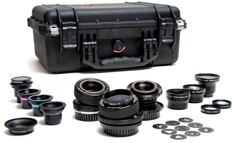 Набор Lensbaby Movie Makers Kit for PL