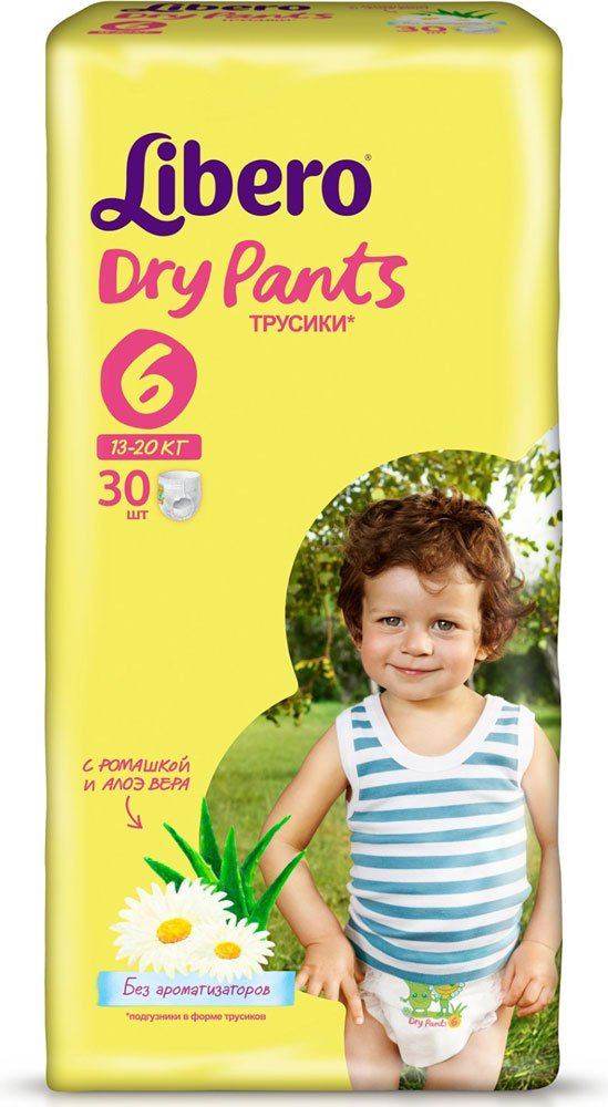 ����� ������� Libero Dry Pants XL 6 (13-20 ��) 30 ��