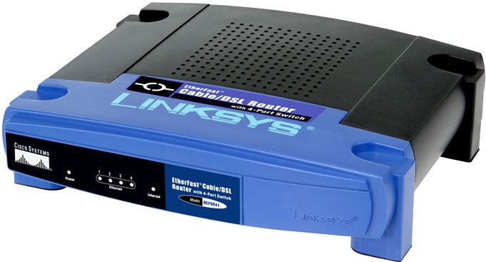 Маршрутизатор Linksys EtherFast Cable/DSL Router with 4-Port Switch