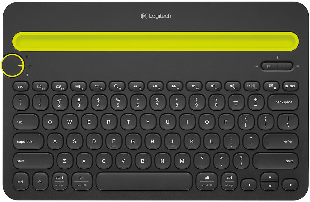 Клавиатура Logitech Bluetooth Multi-Device Keyboard K480 фото