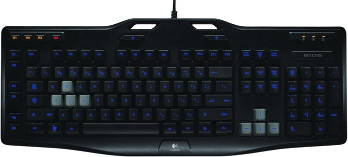 Клавиатура Logitech G105 Gaming Keyboard фото