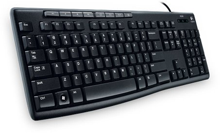 Клавиатура Logitech Media Keyboard K200 фото