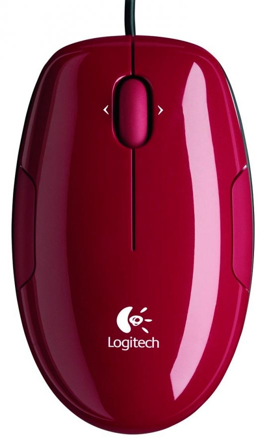 Компьютерная мышь Logitech Mouse M150 Cinammon Red