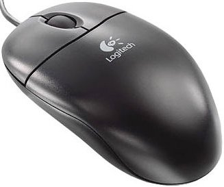 Компьютерная мышь Logitech Optical Wheel Mouse S96