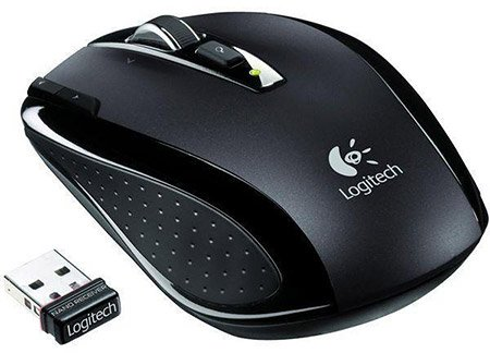 Компьютерная мышь Logitech VX Nano Cordless Laser Notebook Mouse for Business