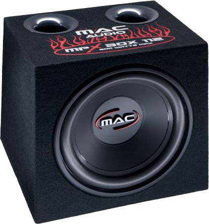 Сабвуфер Mac Audio MPX Box 112