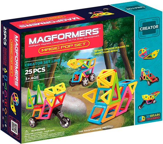 Конструктор Magformers Magic Pop Set 63130