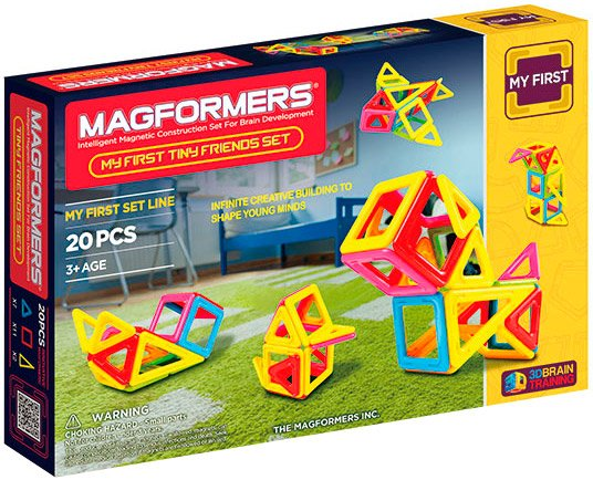 Конструктор Magformers My First Tiny Friends Set 63143