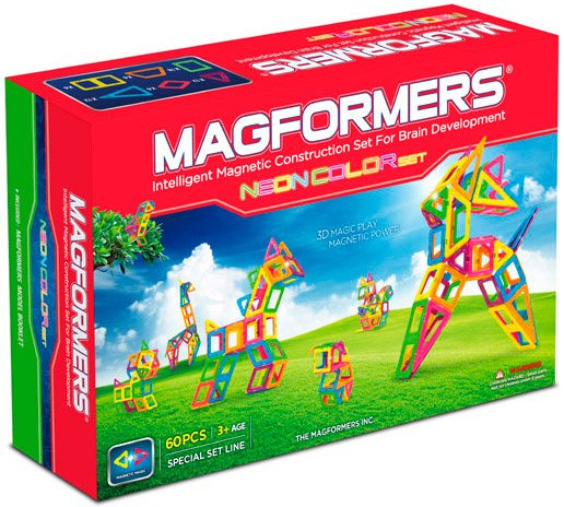 Конструктор Magformers Neon Color Set 63110