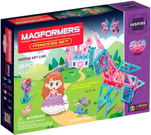 Конструктор Magformers Princess Set 63134