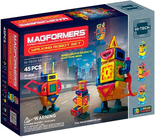 Конструктор Magformers Walking Robot Set 63137