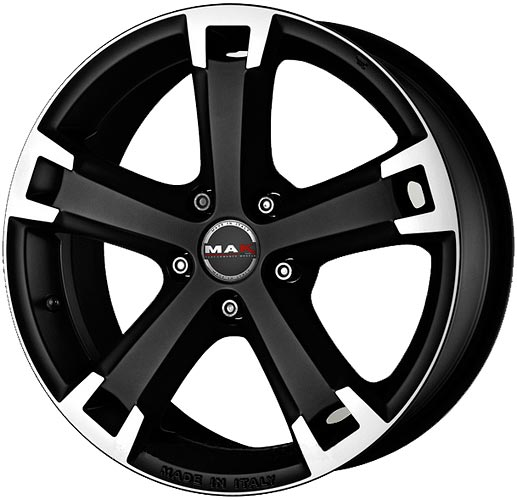 Литой диск Mak Unique Ice Black 6,5x15 5x114,3 ET40 D76