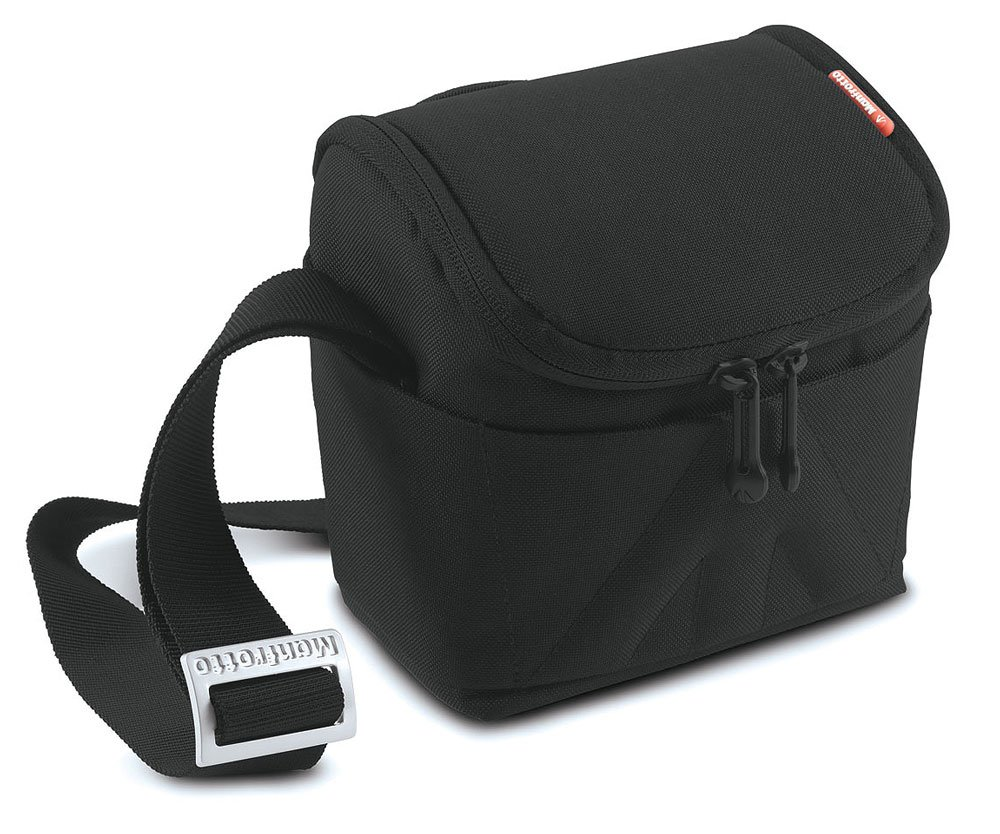 Сумка для фотоаппарата Manfrotto Amica 10 Shoulder Black Stile P (MB SV-SB-10BB)