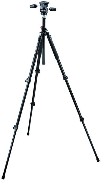 Штатив Manfrotto PRO TRIPOD BLK W/804RC2 HD (TR055XPROB+HD804RC2)