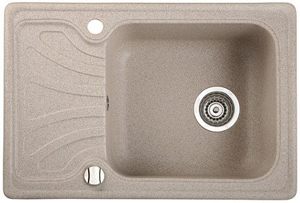 Мойка кухонная MARMORIN DATO 1 bowl sink draining board