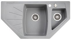 ����� �������� MARMORIN FENCO 1,5 bowl trapezoid sink with draining board