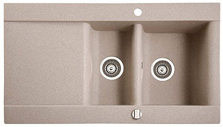 ����� �������� MARMORIN VOGA 1,5 bowl sink draining board