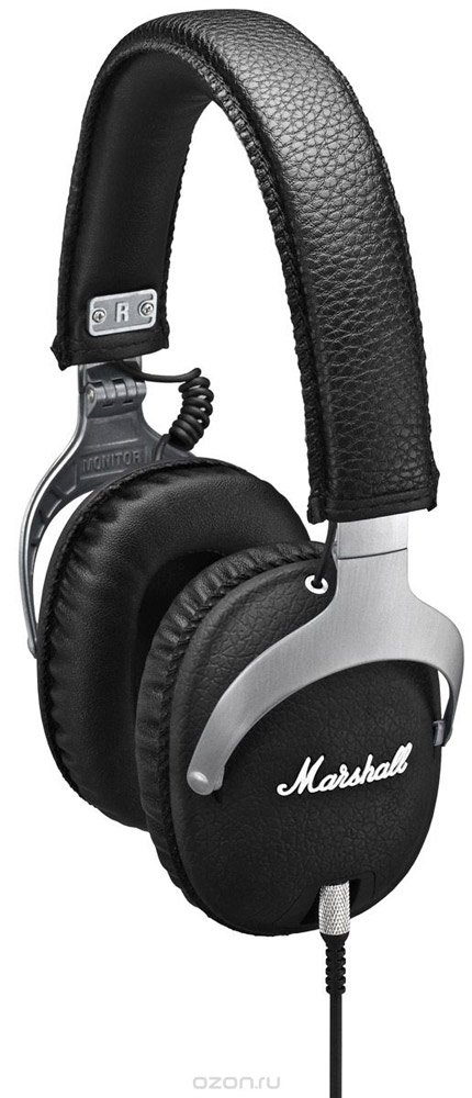 Гарнитура Marshall Monitor Steel Edition