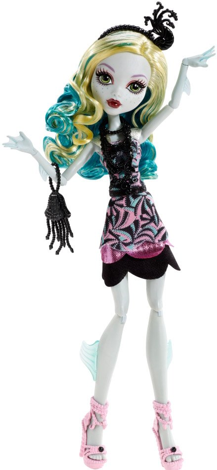 Кукла Mattel Monster High Страх, Камера, Мотор! Лагуна Блю BDF24