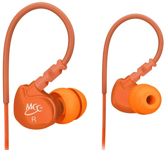Наушники MEElectronics M6 Sports In-Ear Headphones (Orange)