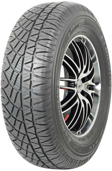 Летняя шина Michelin Latitude Cross 235/55R18 100H