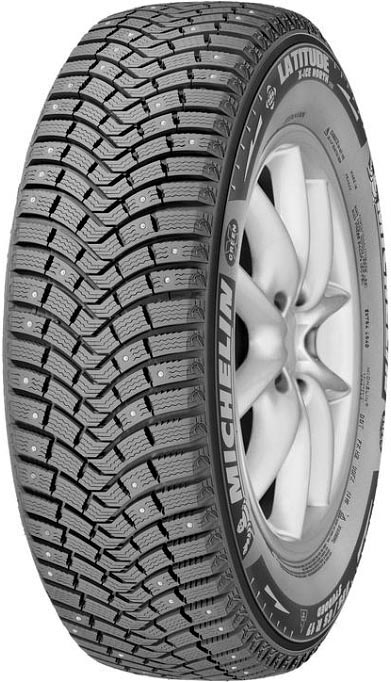 Зимняя шина Michelin Latitude X-Ice North 2 255/55R19 111T