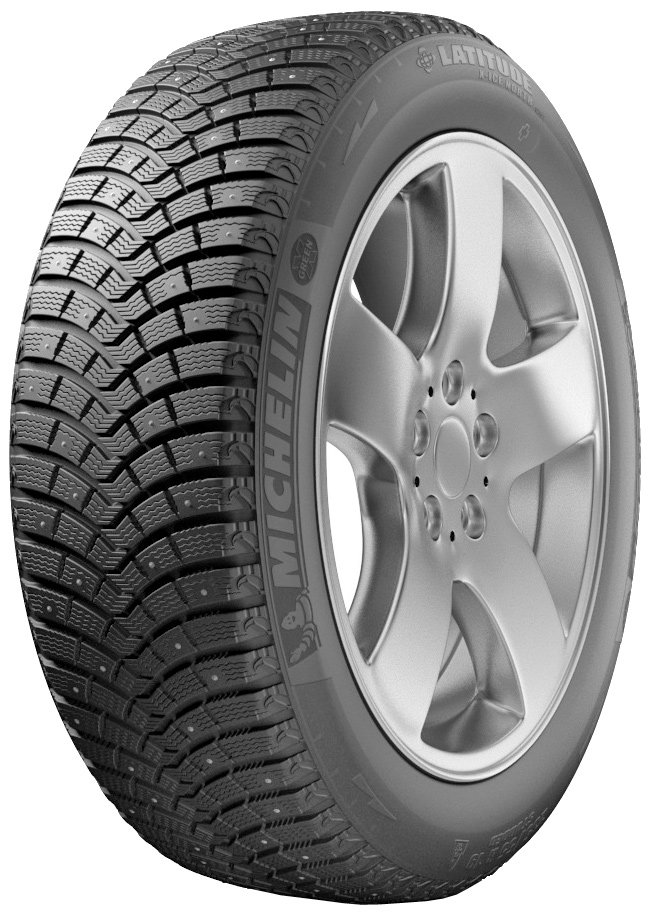 Зимняя шина Michelin Latitude X-Ice North 2+ 245/55R19 107T