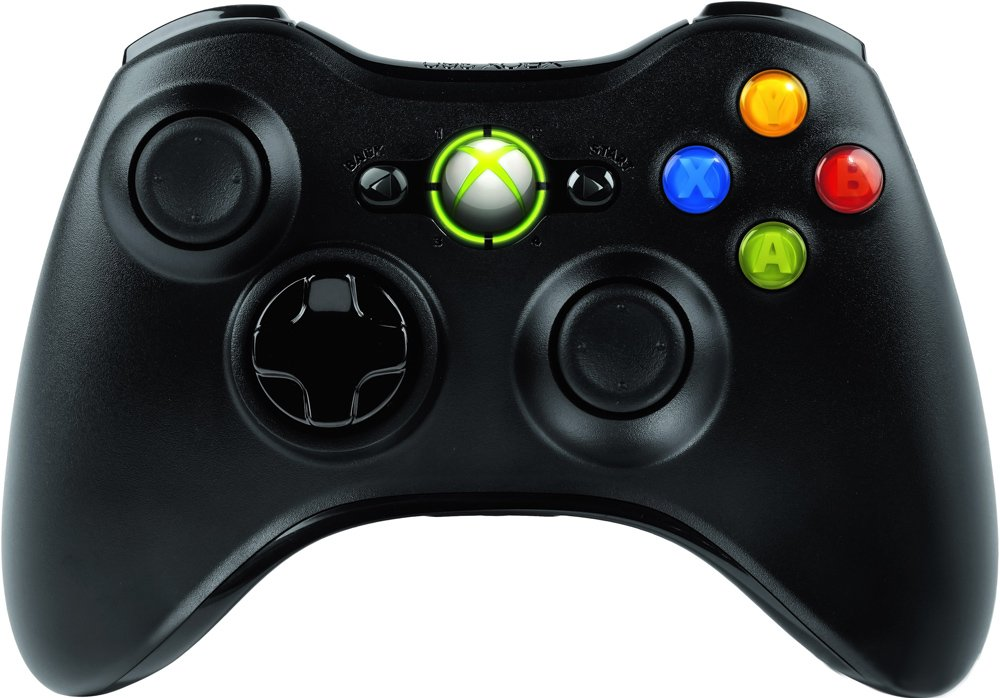 Геймпад Microsoft Xbox 360 Wireless Controller (Black)