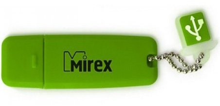 USB-флэш накопитель Mirex CHROMATIC GREEN 16GB (13600-FMUCHG16)