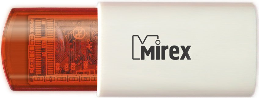 USB-флэш накопитель Mirex CLICK RED 4GB (13600-FMURDC04)